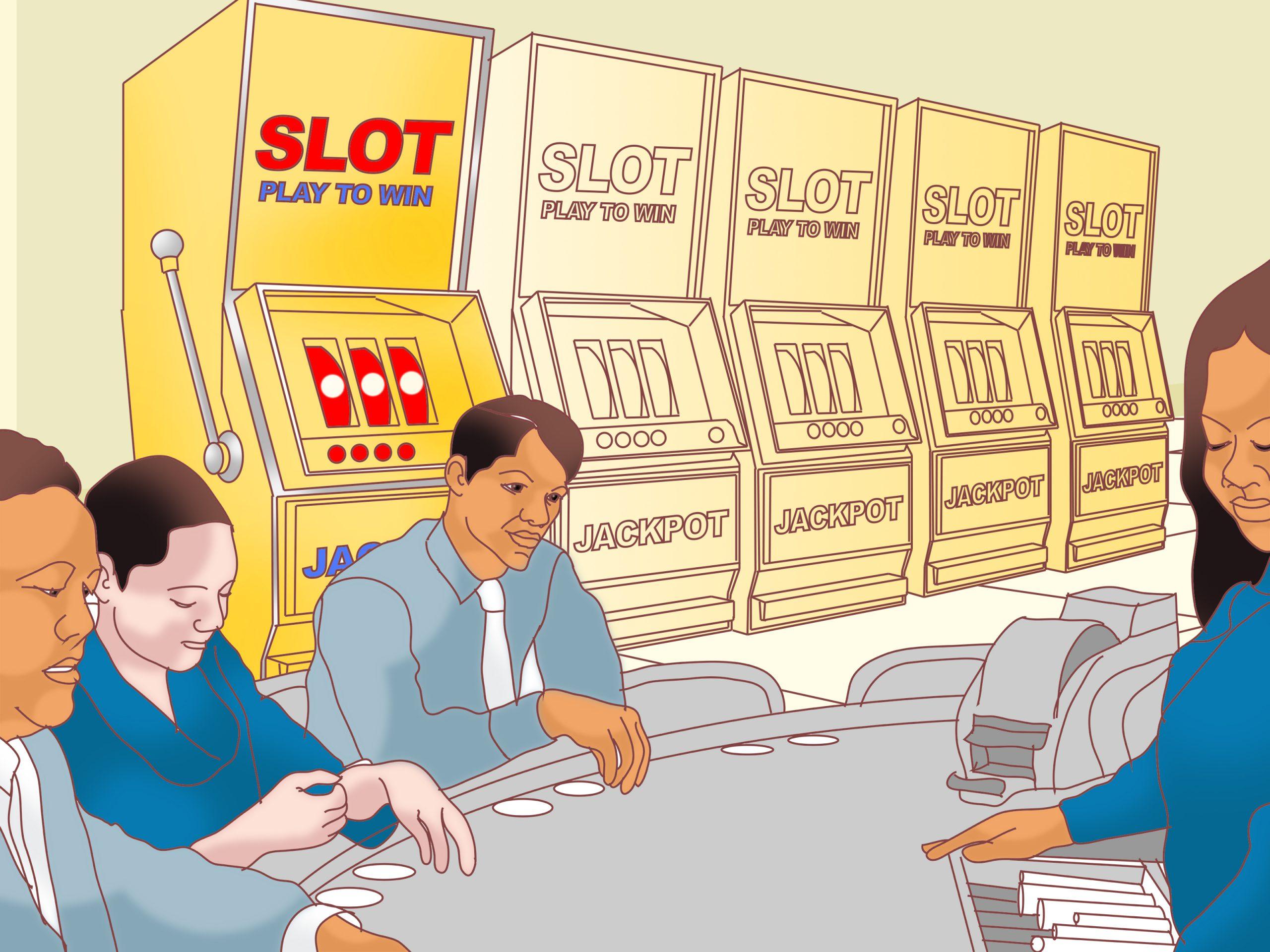 people play slot